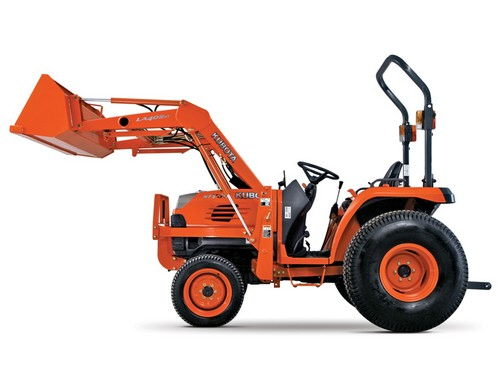 Where to find TRACTOR W FRONT END LOADER in Dallas