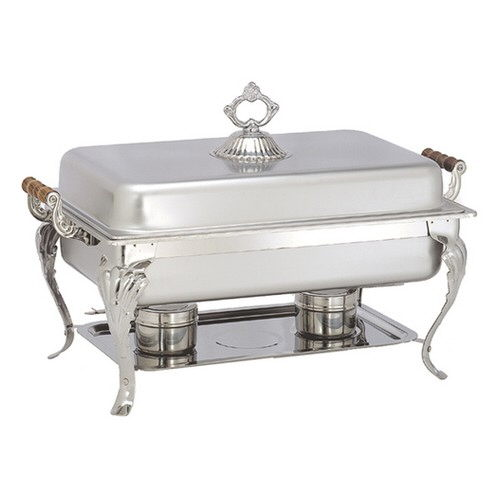 Where to find 8 QT STAINLESS CHAFER in Dallas