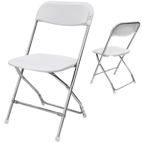 Where to find WHITE   CHROME CHAIR in Dallas