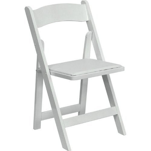 Where to find WHITE GARDEN PADDED CHAIR in Dallas