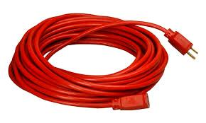 Where to find 50  RED EXTENSION CORD in Dallas