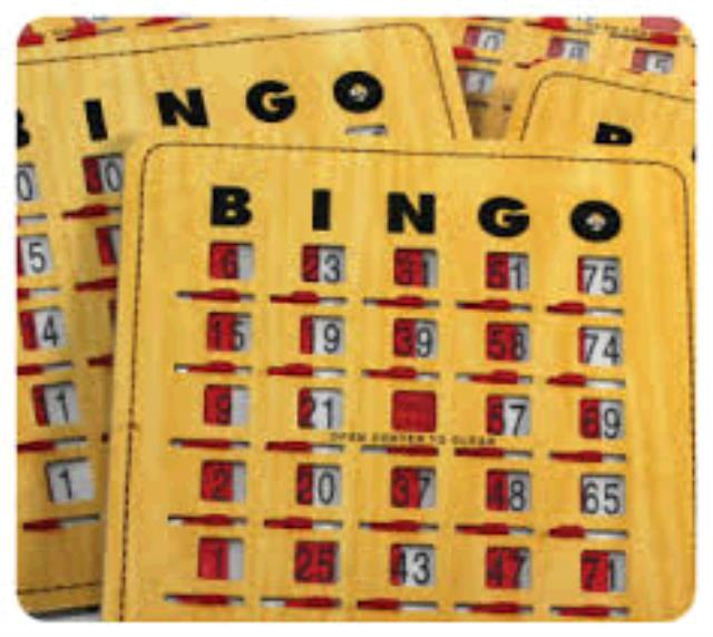Where to find BINGO CARDS in Dallas