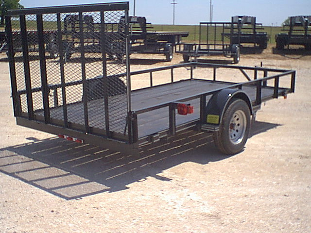 Where to find 5  X 10  SINGLE AXLE TRAILER in Dallas