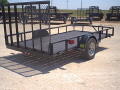 Rental store for 5  X 10  SINGLE AXLE TRAILER in Dallas TX