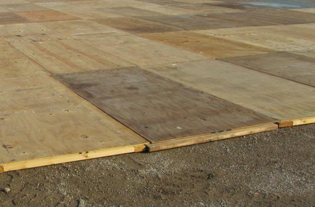 Where to find DECKING, 4 X8  CARPETED PLYWOOD in Dallas