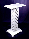 LATTICE LECTERN/REGISTER
