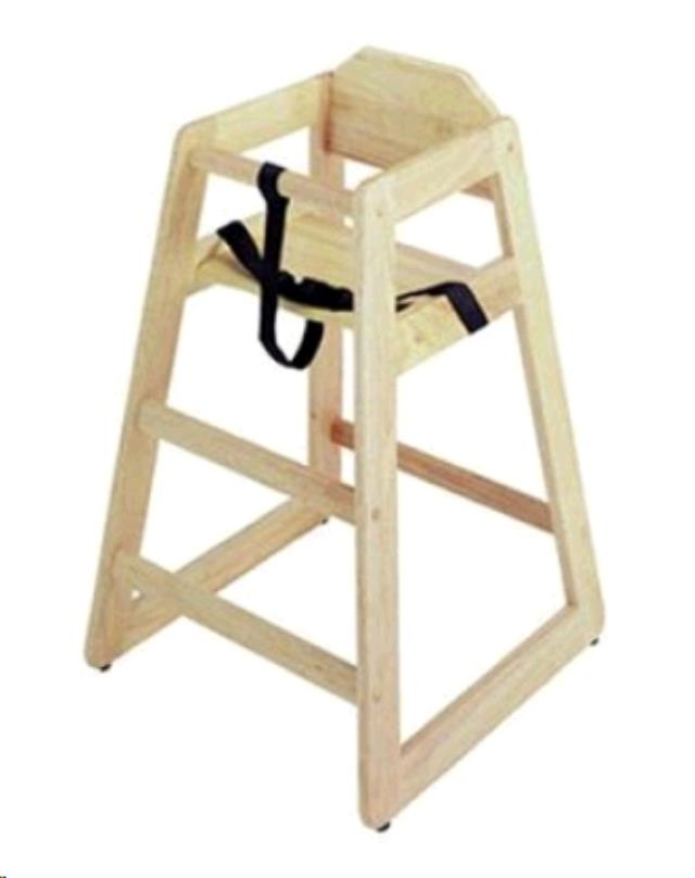 Where to find WOOD HIGH CHAIR in Dallas
