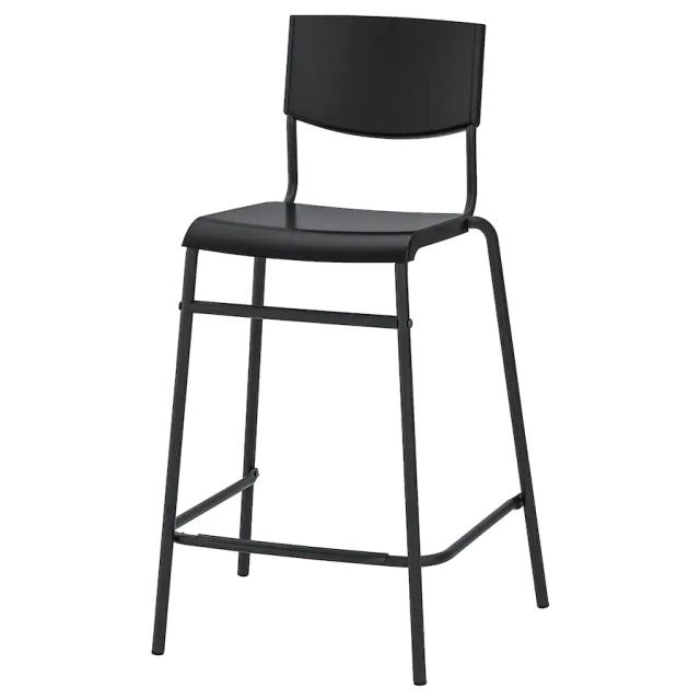 Where to find Black Backed Bar Stool in Dallas