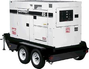 Where to find TOW BEHIND 85KW GENERATOR in Dallas