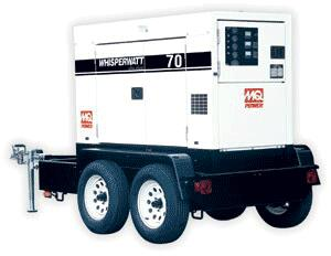 Where to find TOW BEHIND 70KW GENERATOR in Dallas