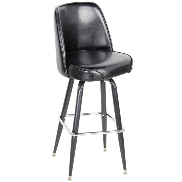 Where to find Leather With Back Bar Stool in Dallas