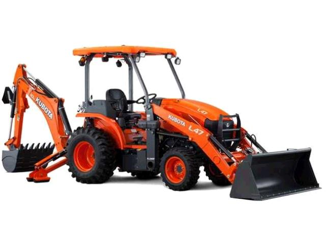 Where to find KUBOTA BACKHOE W LOADER-DIESEL in Dallas
