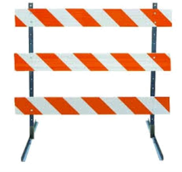 Where to find ROAD BARRICADE TYPE III in Dallas