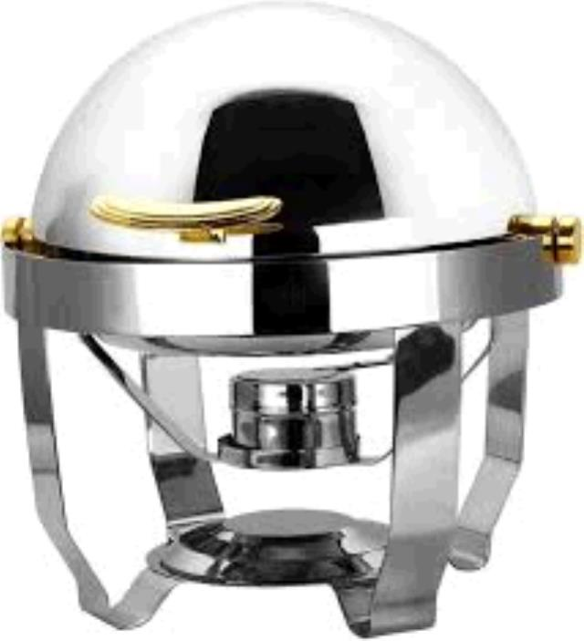 Where to find 4 QT ROUND STNL ROLLTOP CHAFER in Dallas